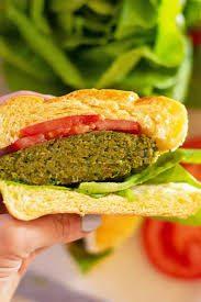 Hamburger di Ceci e Patata Dolce