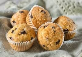 Muffin di Avena ai Mirtilli